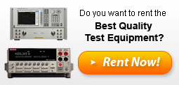 Electronic Test Equipment For Rent